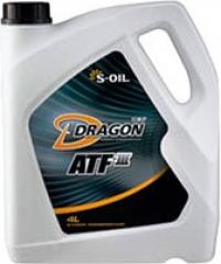 масло трансмиссионное s-oil dragon atf-iii (4л)