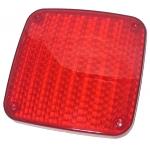 Фото стекло заднего фонаря (стоп-сигнала) hino ranger '87-'04 красное стоп-сигнал
