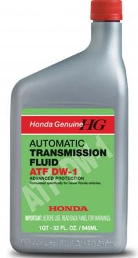 масло трансмиссионное honda atf dw-1 (1л)
