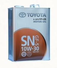 масло моторное toyota sn 10w-30 (4л)