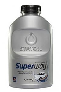 масло моторное statoil superway sl/cf 10w-40 (1л)