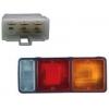 Фото фонарь задний mitsubishi canter '85-'99 (214-1903) правый стоп-сигнал