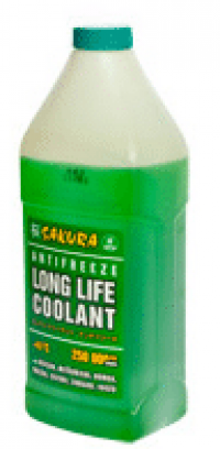 антифриз sakura long life coolant зеленый (1кг)