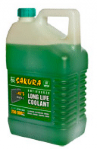 антифриз sakura long life coolant зеленый (5кг)