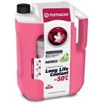 Фото антифриз totachi niro llc -50°c (красный) 4 литра охлаждающая жидкость