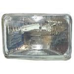 Фото лампа-фара прямоугольная 12v 75/100w «koito 4rsb-2-12» фары автомобильные