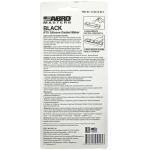 Фото герметик прокладок abro black rtv silicone 12-ab-ch-re-s, черный (85гр) ремонтные и профилактические