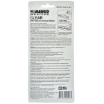 Фото герметик прокладок abro clear rtv silicone 13-ab, прозрачный (85гр) ремонтные и профилактические