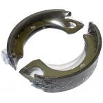 Фото колодки стояночного тормоза cac friction k1746 (zevs fn-1246) колодки ручника