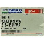 Фото габаритный фонарь depo 213-1514r-wa - isuzu elf '87-'94 правый габарит / поворотник