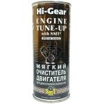 Фото мягкий очиститель двигателя hi-gear engine tune-up with smt² (444мл) ремонтные и профилактические