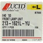 Фото повторитель поворота в бампер lucid 213-1621l-yu - isuzu forward/giga '93-'06 левый габарит / поворотник