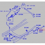 Фото шланг рабочего цилиндра сцепления mitsubishi canter «horse mc113110» шланги цилиндров сцепления