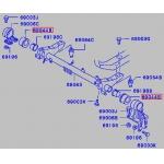 Фото сайлентблок кабины schmaco sms-4207 - mmc fuso / canter (ø58x114) втулки и сайлентблоки