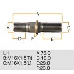 шпилька колесная masuma mls-079 - mmc canter задняя левая
