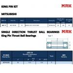 Фото шкворневой ремкомплект mrk mm-15 - mitsubishi fuso canter (28x180 mm) шкворни