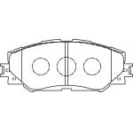 Фото колодки тормозные дисковые masuma ms-1524 (a-742) колодки дисковые