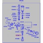 Фото топливный фильтр сеточка mitsubishi me702231 (092220-0040) насос ручной подкачки