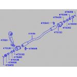 Фото рулевая тяга продольная mitsubishi canter «chase mc121718» продольные рулевые тяги