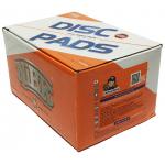 Фото колодки тормозные дисковые nibk pn-3233 (a-313) колодки дисковые