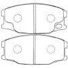 Фото колодки тормозные дисковые nibk pn-3407 (a-476) колодки дисковые