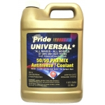 Фото антифриз pride universal gold premix cs готовый, универсальный (1 галлон = 3.785л) охлаждающая жидкость