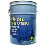 Фото масло моторное s-oil seven blue#5 cf-4/sg 10w-30 diesel (20л) моторные масла
