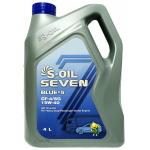 Фото масло моторное s-oil seven blue#5 cf-4/sg 15w-40 diesel (4л) моторные масла