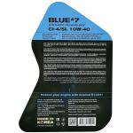 Фото масло моторное s-oil seven blue#7 ci-4/sl 10w-40 diesel (6л) моторные масла
