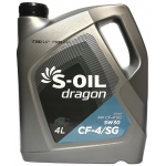 Фото масло моторное s-oil dragon cf-4/sg 5w-30 (4л) моторные масла
