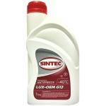Фото антифриз sintec lux-oem g12 (-40°c) красный 1kg охлаждающая жидкость