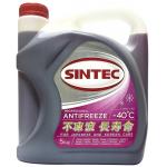 Фото антифриз sintec оем for japanese and korean cars красный (5 кг) охлаждающая жидкость