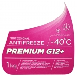Фото антифриз sintec premium g12+ -40°с фиолетовый (1kg) охлаждающая жидкость