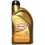 Фото масло для двухтактных двигателей sintec moto 2t sae30 (1л) моторные масла