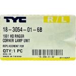 Фото повторитель поворота на дверь tyc 18-3054-01-6b - hino ranger '89-'99 l=r габарит / поворотник