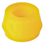 Фото втулка амортизатора «точка опоры 1-03-832» iø 19, oø 36, h 21 mm. полиуретановая (комплект 4шт) втулки и сайлентблоки