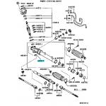 Фото подшипник рулевого редуктора toyota 90363-12008 (12x37x12) нижний рулевое управление