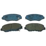 Фото тормозные колодки дисковые drivejoy v9118-h036 (a-663) колодки дисковые