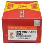 "Фото тормозной цилиндр рабочий yamasida 8-97078-617-0 - isuzu elf '93-'98 задний левый r.lh (1"") без прокачки цилиндры тормозные рабочие"