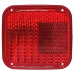 Фото стекло стопа silver light 015-red (zevs 214-1911) красное стоп-сигнал