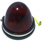 Фото габаритный фонарь универсальный silver light 41-041-d red (красный) бортовые габариты