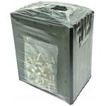 Фото тормозные накладки zevs z4104-2204 (ibk t410-2204) 8 шт. с клепками колодки барабанные