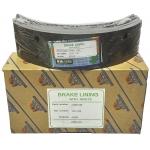 Фото тормозные накладки zevs z3206-758 (rca ibk gl t320-758) колодки барабанные