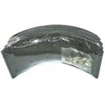 Фото тормозные накладки zevs z3206-1104 (ibk t320-1104) комплект 4 шт с клепками колодки барабанные