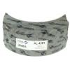 Фото тормозные накладки 320-1201. asuki al-4201 (4 шт. с клепками) колодки барабанные