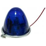 Фото габаритный фонарь для грузовиков. универсальный, синий. бортовые габариты