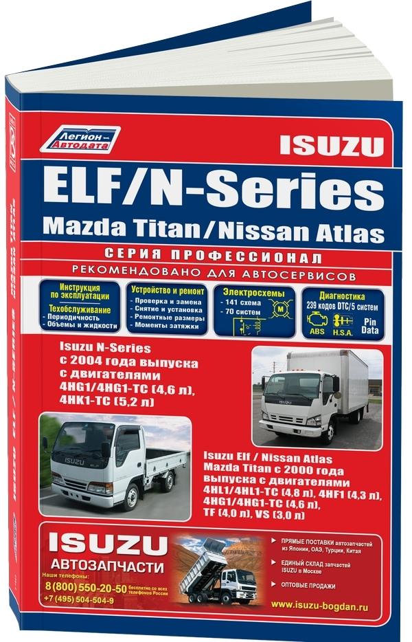 isuzu elf/mazda titan/nissan atlas (с 2000)