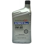 масло моторное honda genuine hg ultimate full synthetic sn 0w-20 (1 us qt / 946 ml)