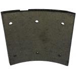 Фото тормозные накладки ibk t320-1350. (8 шт, с клепками) колодки барабанные