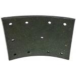 Фото тормозные накладки ibk t370-1201 t370-1202 (8 шт. с клепками) колодки барабанные